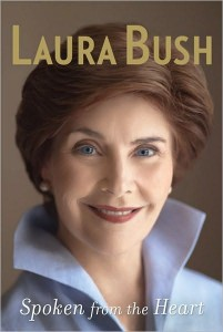 55820344 201x300 book review: spoken from the heart, laura bush