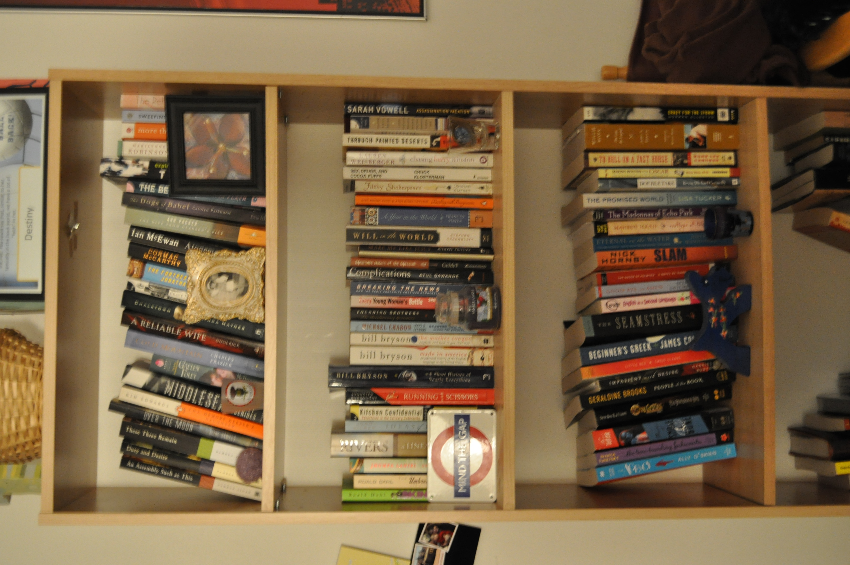 Read Book Shelf meet my tbr bookshelf - sarahreck