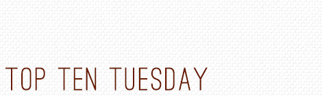top ten tuesday: books I had to buy but --