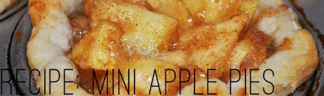 recipe: mini apple pies