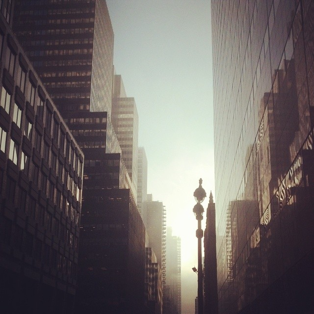 Good morning  NYC. photo friday: morning in manhattan, nyc