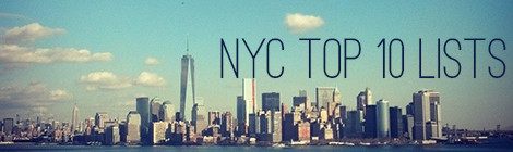 top ten lists: new york city