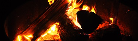 poem: campfire chic