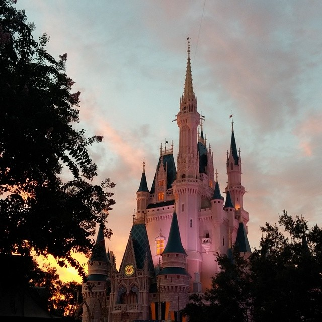nofilter Cinderella castle at  DisneyWorld  Disney photo friday: cinderellas castle