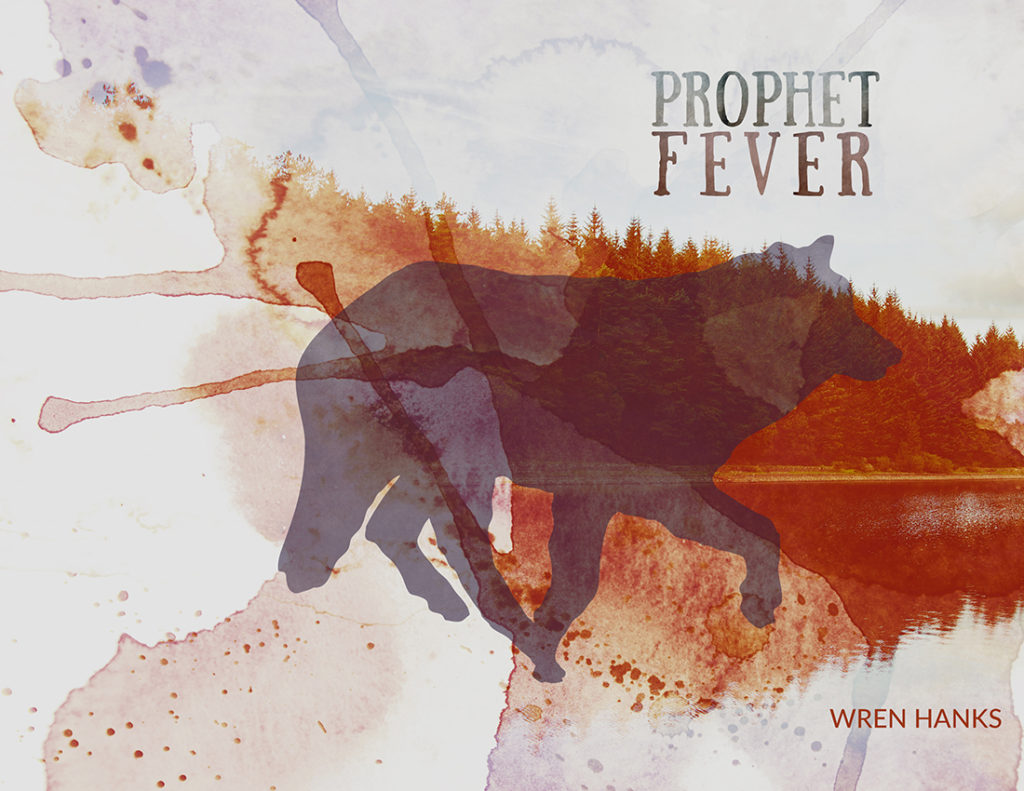 From Hyacinth Girl Press: Prophet Fever by Wren Hanks, cover design by Sarah Reck